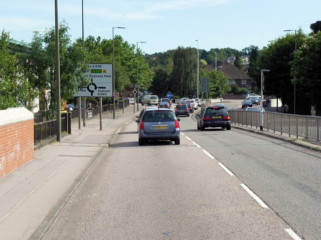 Newbury, Greenham Road (A339)