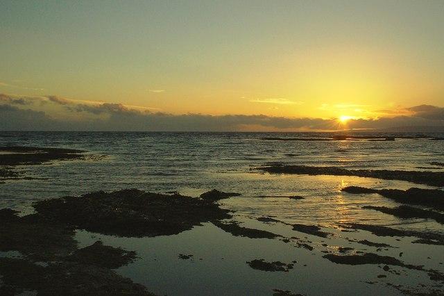 Croy Bay Sunset