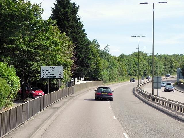 Greenham Road (A339), Newbury