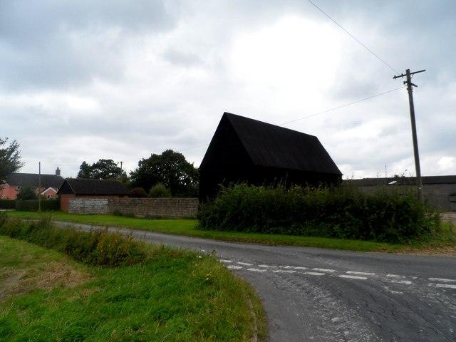 Buildings at Wood Farm near Bruisyard