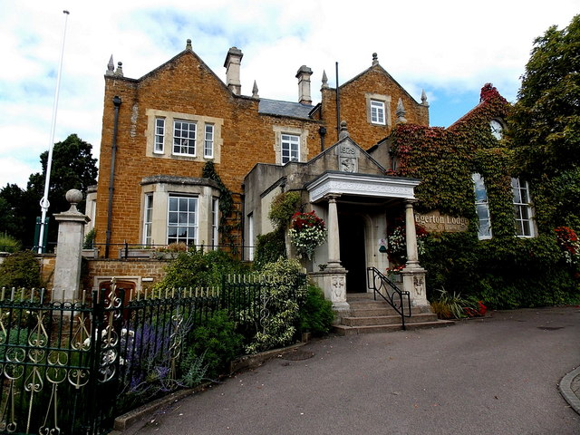 East side of Egerton Lodge, Melton Mowbray