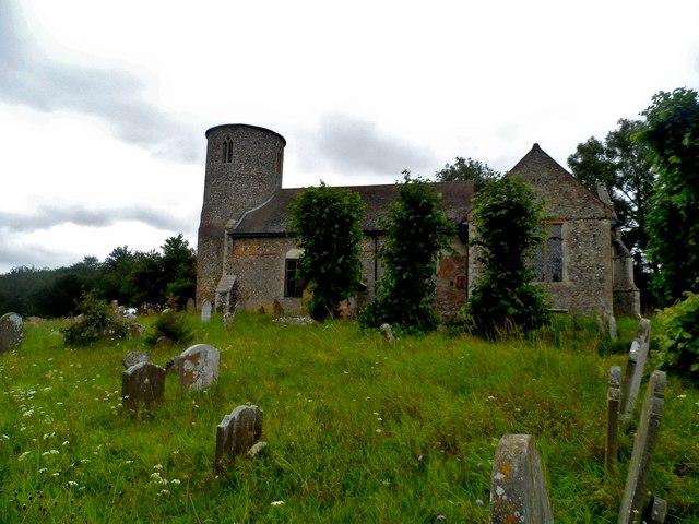 St Peter's church, Bruisyard