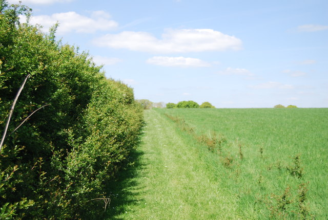 Footpath to Holbrook Farm