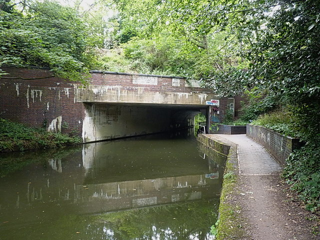 Yardley Road bridge over the Grand Union canal