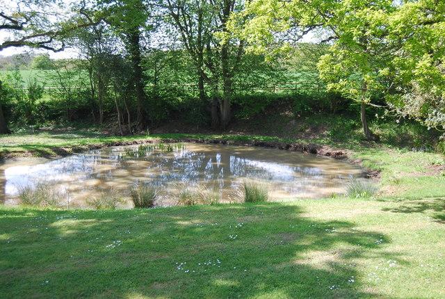 Pond, Holbrook Farm