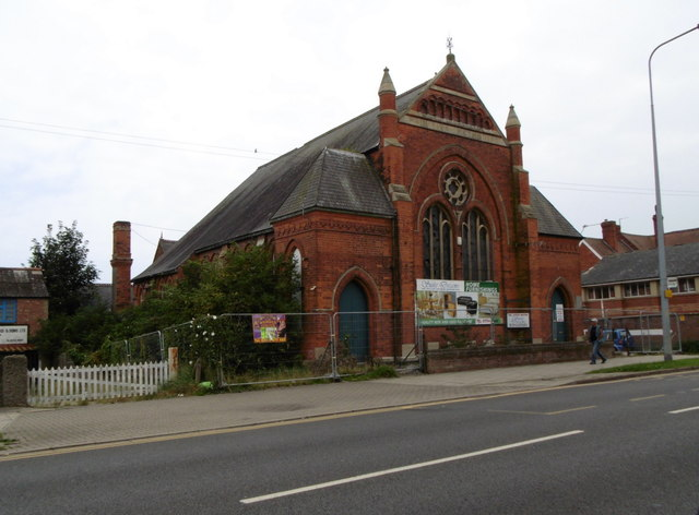 Former church on Roman Bank, Skegness