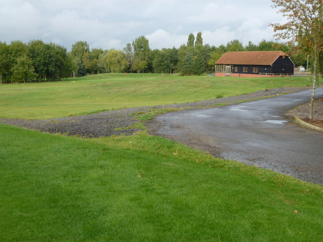 Golf course at Lakeside Lodge, Pidley