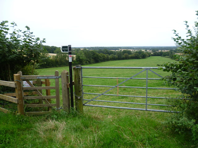 The Greensand Way from Greenhill Lane