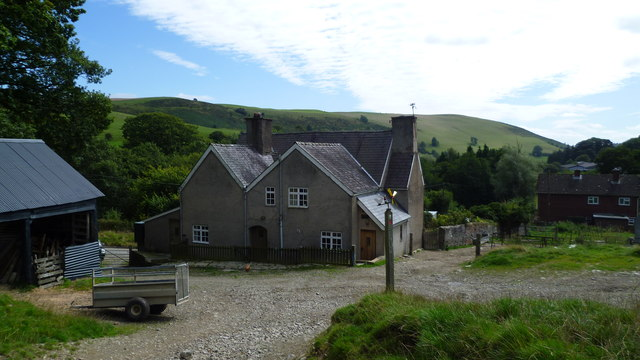 Garbett Hall farm on Offa's Dyke Path