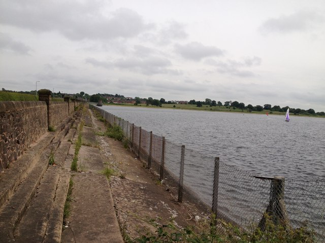 Dam end of Bartley Reservoir