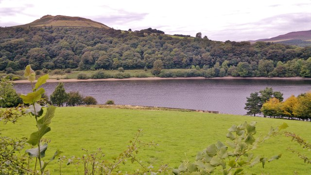 Crook Hill from south side of Ladybower Reservoir