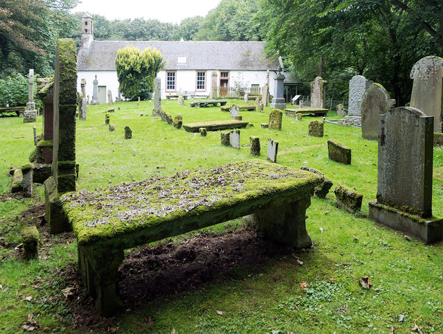 Nigg Old Church and churchyard