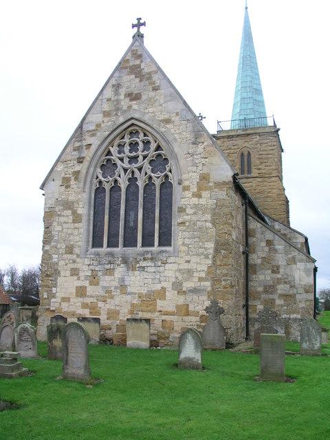 Kirmington St Helen's church, east end