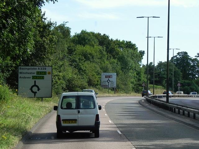 A339, Newbury