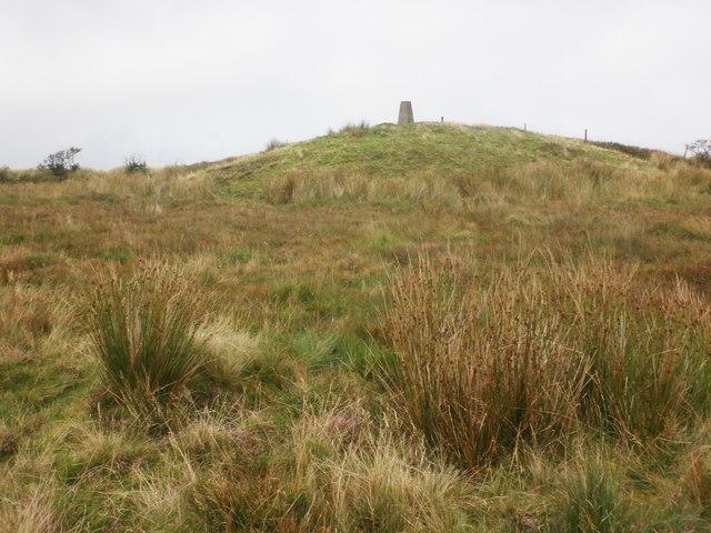 Highest point on Chapman Barrows