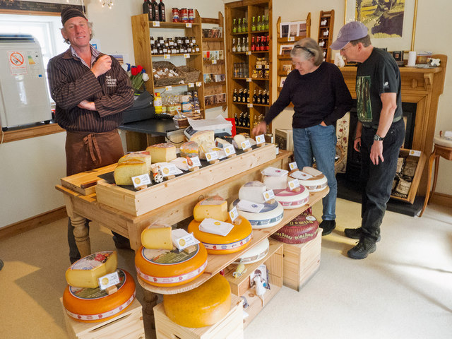 Inside The Cheese House Cromarty