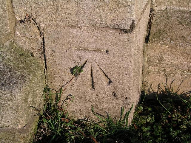 Cut Mark: Keelby, St Bartholomew's Church
