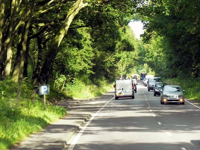 A339, Layby near Greenham Common