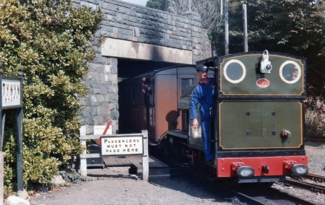 Tywyn Wharf station on Talyllyn Railway