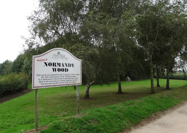Normandy Wood near Packington