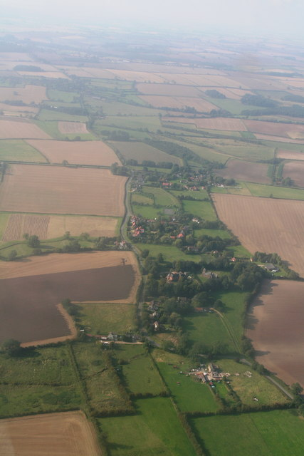 Benniworth: aerial 2014