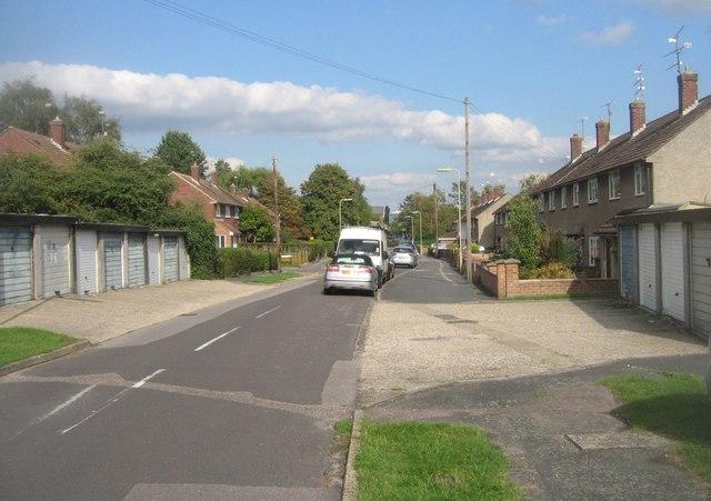 View along Neville Duke Road
