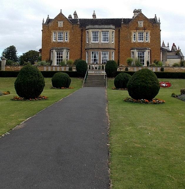 South side of Egerton Lodge, Melton Mowbray