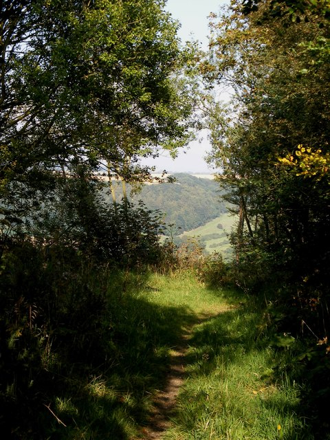 View from bridleway