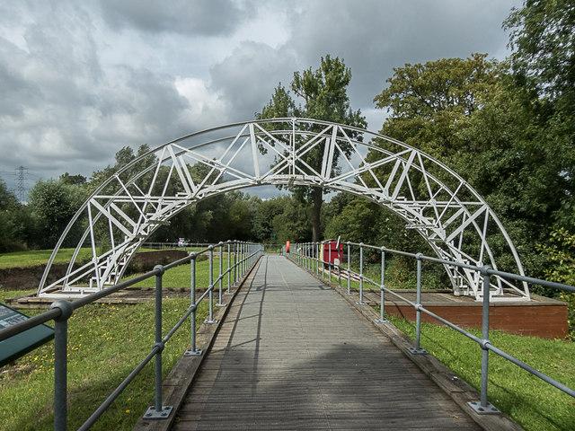 Bridge and Boardwalk, Royal Gunpowder Mills, Waltham Abbey
