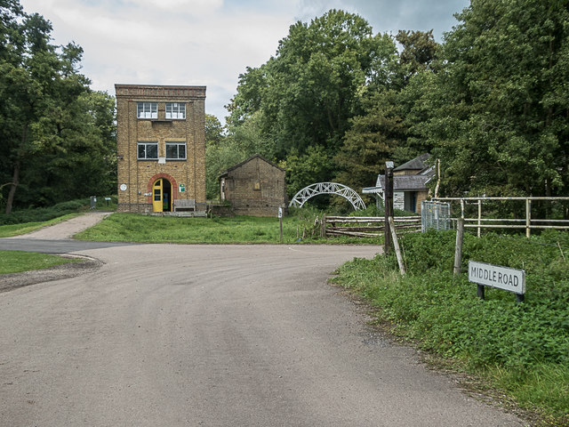 Middle Road, Royal Gunpowder Mills, Waltham Abbey