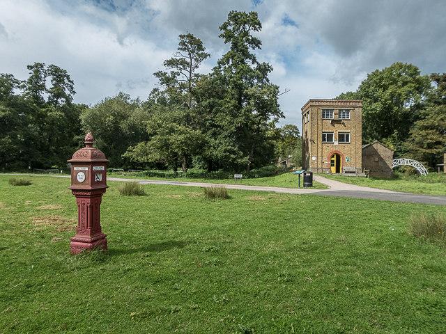 Fire Alarm and Watch Tower, Royal Gunpowder Mills, Waltham Abbey