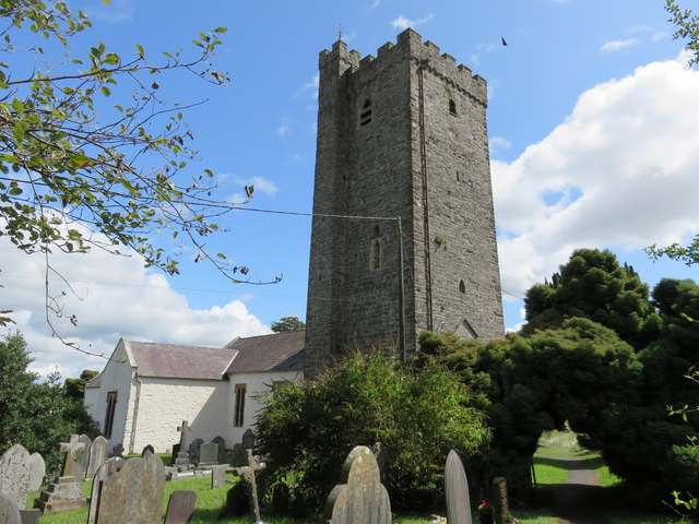 Church of St Ysteffan, Llansteffan