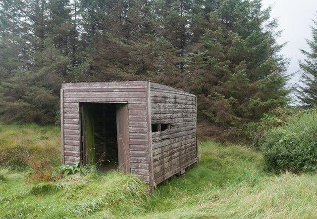 Hut on the Octofad Track, Islay