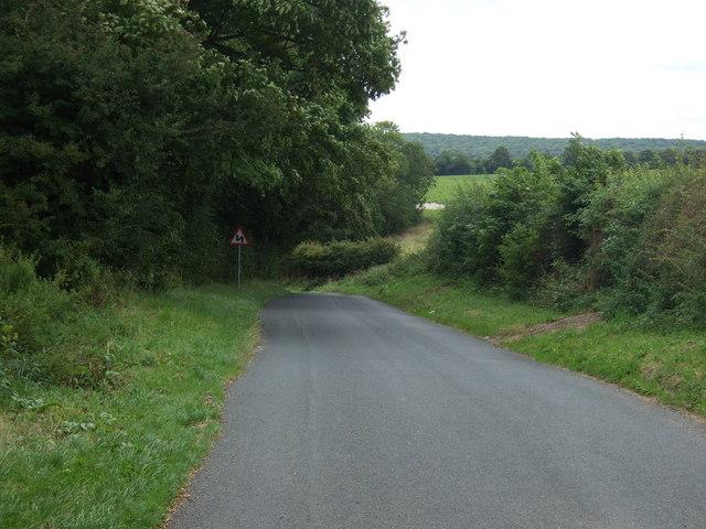 Twisty lane into Boynton
