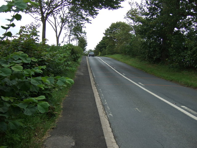 B1253 heading east out of Boynton