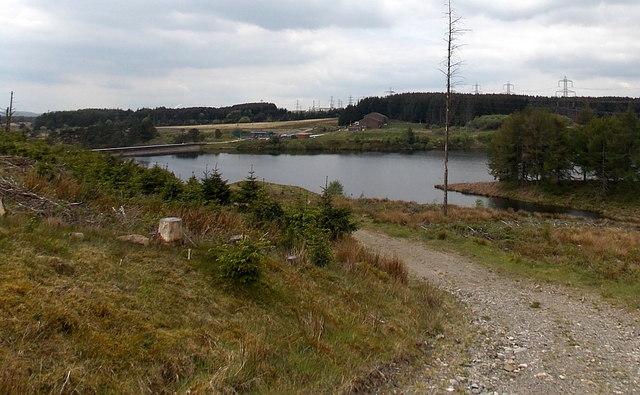 Carno Reservoir near Garnlydan