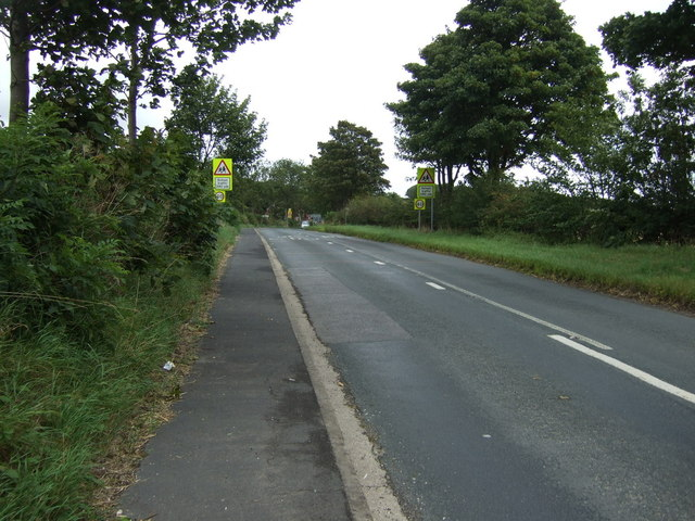 B1253 towards Bridlington
