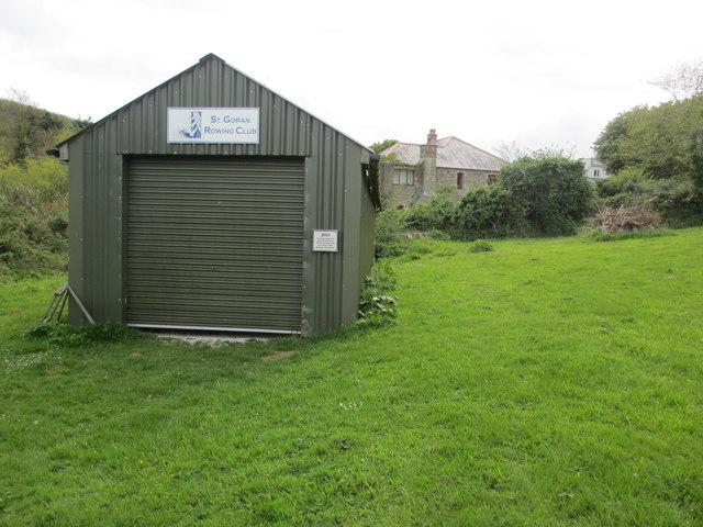 Gig shed, St. Goran Rowing Club