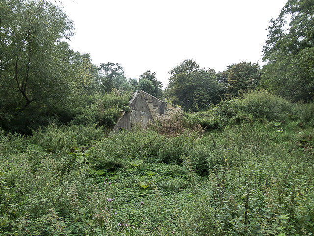 Remains of Building, Royal Gunpowder Mills, Waltham Abbey