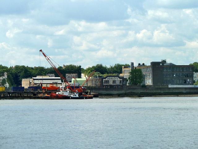 Former Henley's cable works, Northfleet, 2011