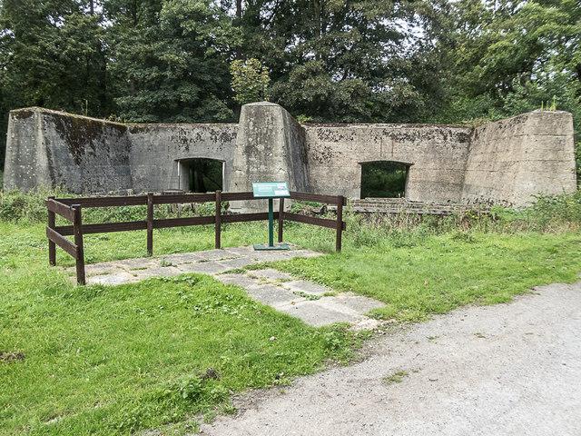 Building, Royal Gunpowder Mills, Waltham Abbey