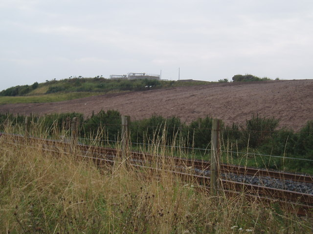 Water treatment works near Corse Hill
