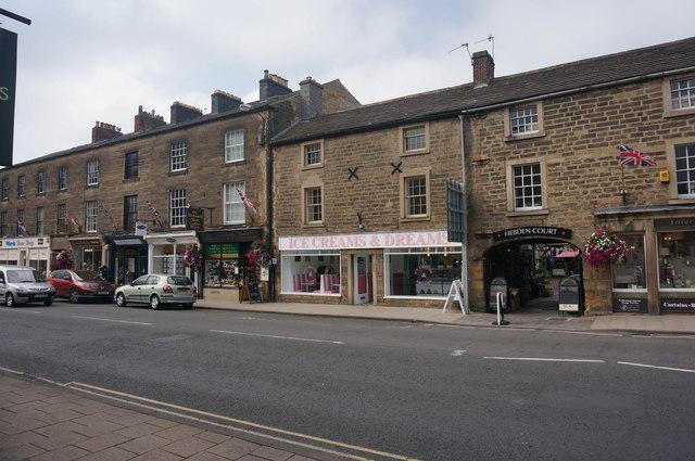 Ice Cream shop, Matlock Street, Bakewell