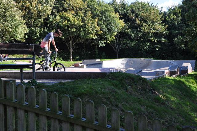 Ilfracombe : Larkstone Park Skate Park