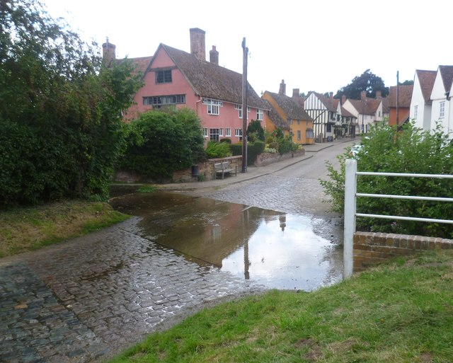 The ford at Kersey
