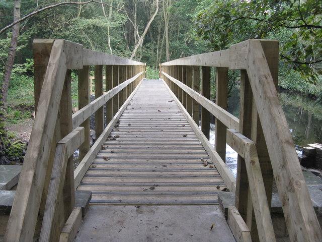 New bridge over the River Don