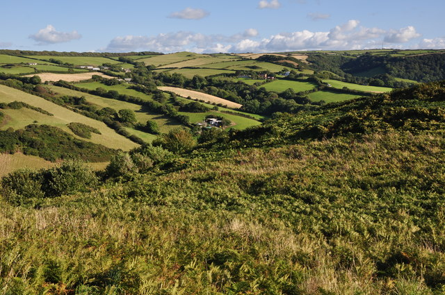 North Devon : Countryside Scenery