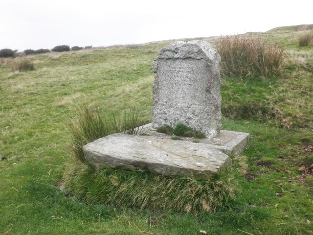 Memorial, near Chapman Barrows