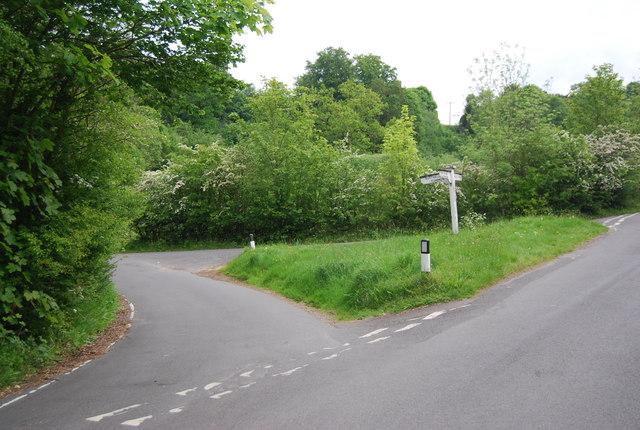 Tea Garden Lane, High Rocks Lane junction