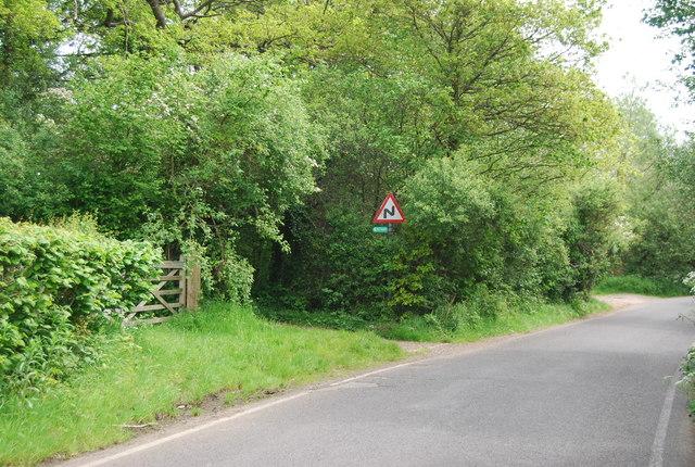 Footpath off High Rocks Lane